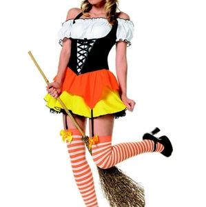 Kandy Korn Witch Halloween Costume